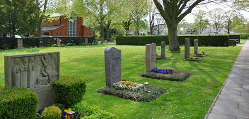 Stadtteilfriedhof Badenstedt (© Friedrich Cordes Bestattungen)