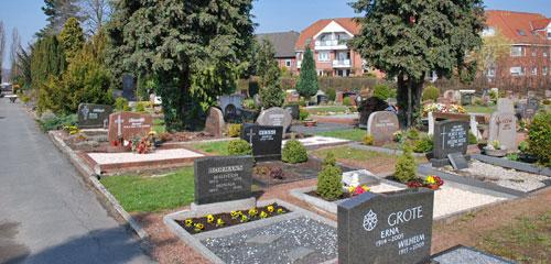 Friedhof Empelde (© Friedrich Cordes Bestattungen)