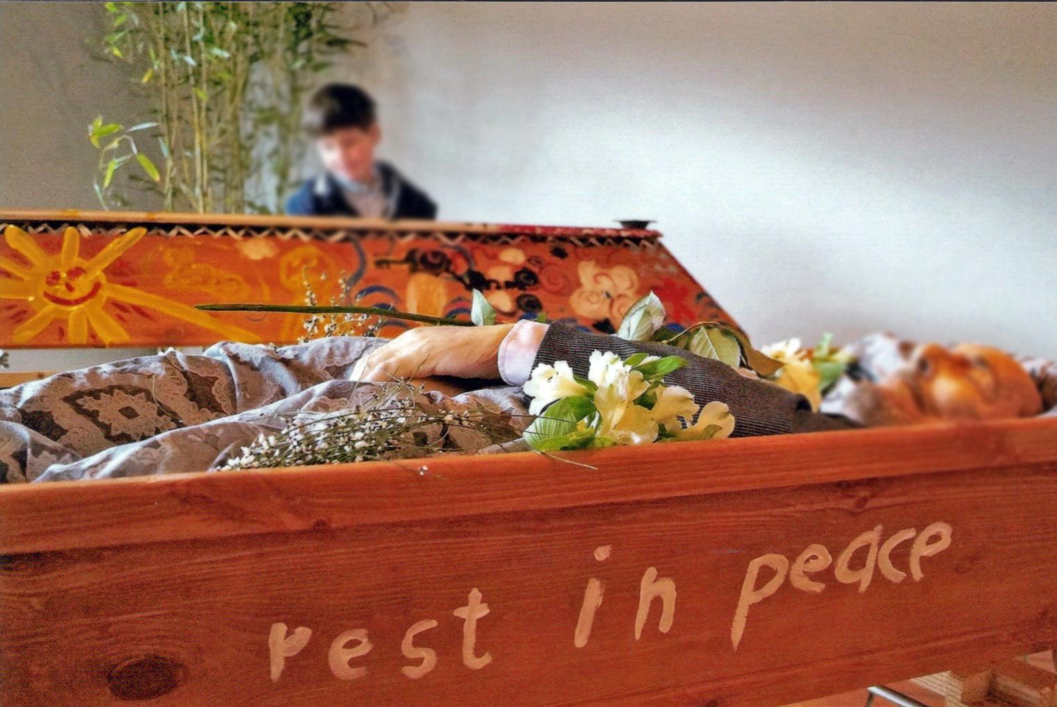 Gemeinsame Vorbereitung auf die Beerdigung bei Cordes Bestattungen in Hannover