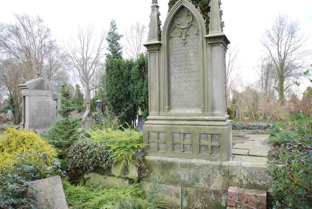 So ein Denkmal sollte nicht verfallen, das hat die Friedhofsverwaltung Hannover erkannt.