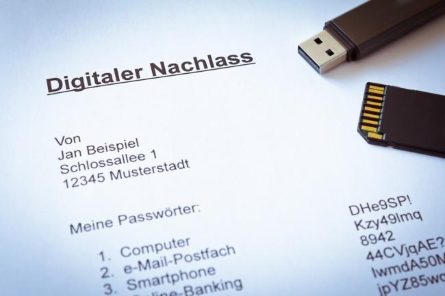 Der digitale Nachlass wird immer wichtiger und sollte unbedingt geregelt werden.