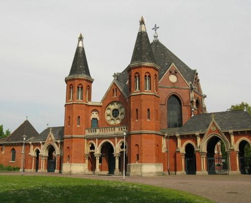 Eingang Stöckener Friedhof Hannover