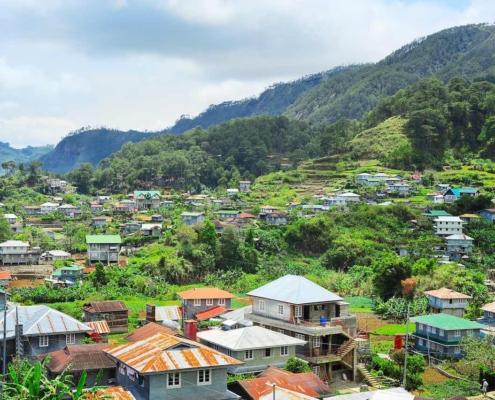 Das Tal von Sagada auf den Philipinen