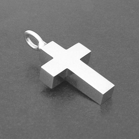 Amulette - Kreuz (silber)