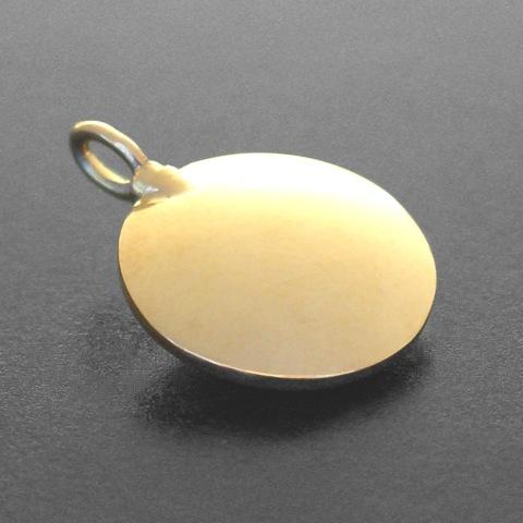 Amulette - rund (gold)