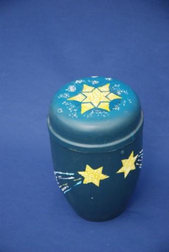 Selbst gestaltete Urne
